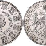 オーストリア 1873年 ウィーン射撃祭記念 2フローリン銀貨 フランツ・ヨーゼフ PROOF【入札期限:2020年6月30日】