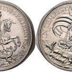 ハンガリー(クレムニツァ) 1896年 セント・ジョージ ターラー銀貨 フランツ・ヨーゼフ【入札期限:2020年6月30日】